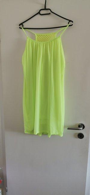 Mini Dress neon yellow