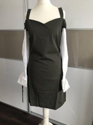 Minikleid Abendkleid Pinko Khaki Kleid Sommerkleid