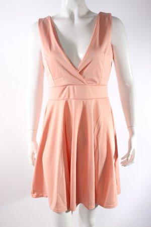 Minikleid apricotfarben