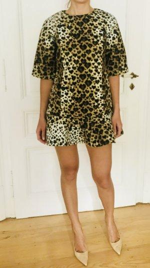 Minikleid aus Neopren Jersey