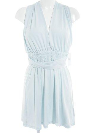 Mini-jurk babyblauw extravagante stijl