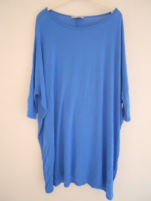Minikleid blau leuchtend Tunika be-fun Gr. 40 bloggerstyle boho