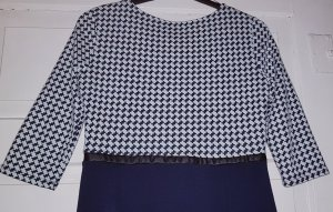 Minikleid blau-weiß