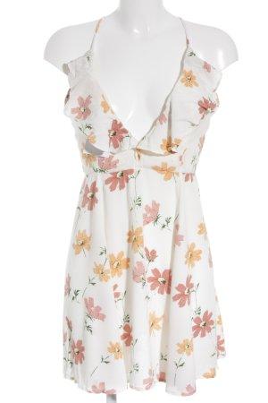 Minikleid Blumenmuster Country-Look