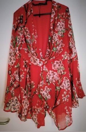 Minikleid Boohoo Kimonodress L