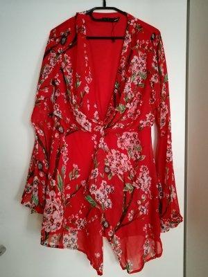 Boohoo Mini-jurk rood
