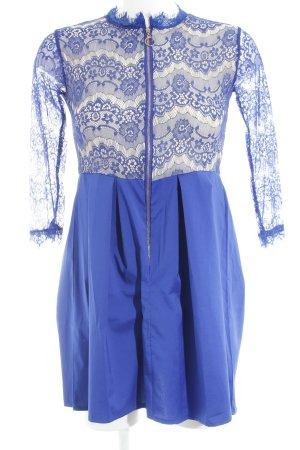 Minikleid dunkelblau Elegant