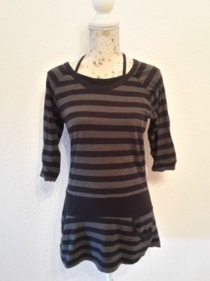 Mini Dress white-grey