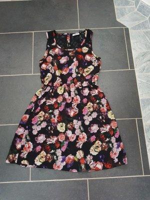 Minikleid Gr. 36 (S) Printkleid Blumen Kleid Only Spitze Neu sommerkleid