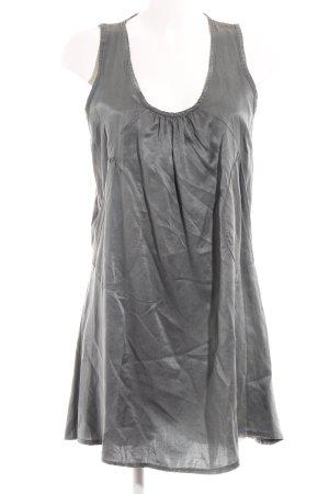 Robe courte gris style décontracté