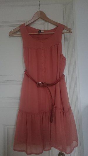 Minikleid, Größe 36, Farbe: Orange / Terracotta