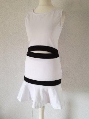 Minikleid im 2in1 Look Cutouts Kleid
