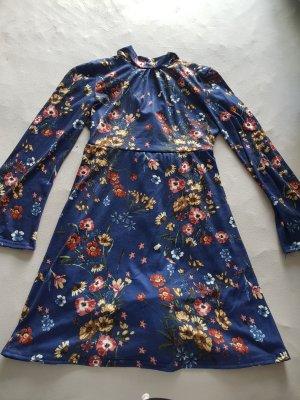 Club L Robe portefeuille bleu
