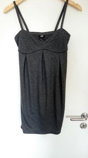 Minikleid in grau von H&M Größe S