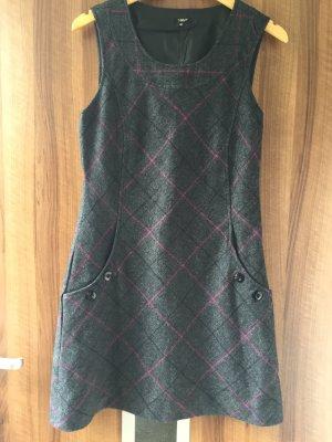 Minikleid in Grunge Style mit Karomuster