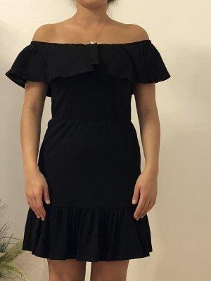 Asos Off-The-Shoulder Dress black