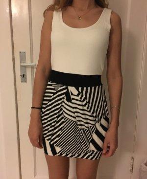 Minikleid in schwarz/weiß , Tally weijl