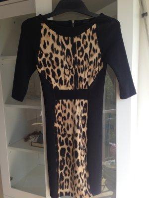 Minikleid in Tigeroptik von Zara
