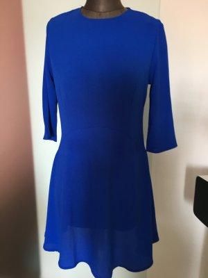 Minikleid Kleid Gr 36 38 S  Royalblau ganz Aktuell Zeitlos