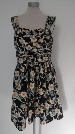 Minikleid Kleid mini kurz Gr. 44 Atmosphere Sommerkleid schwarz umen Skaterkleid