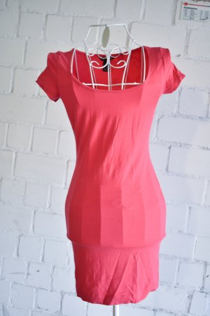 Minikleid Long Shirt in Pink