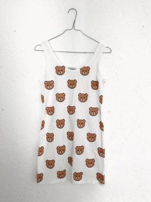 Minikleid mit Bärenköpfen
