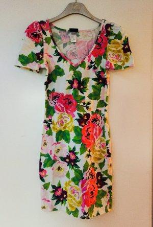 Minikleid mit Blumenprint