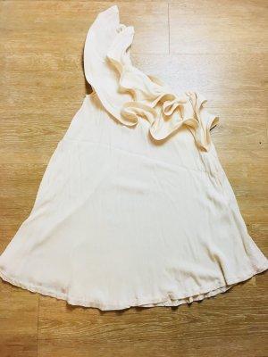 Minikleid mit One-Shoulder-Träger und Rüschen