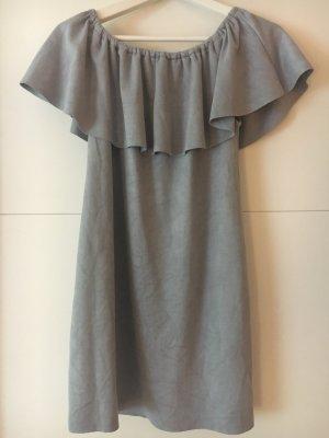 Mini-jurk azuur