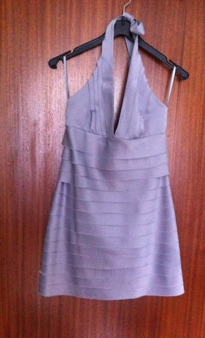 3 Suisses Halter Dress silver-colored polyester