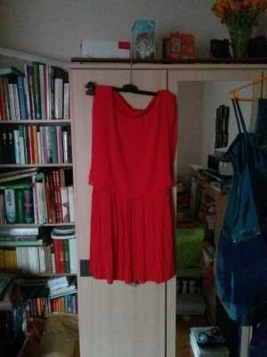 Aniston Robe chiffon rouge