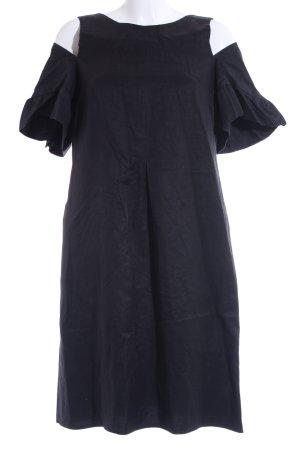 Robe courte noir style décontracté