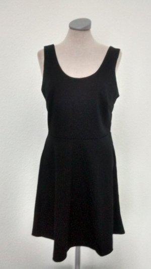 Minikleid schwarz Gr. 42 neu Kleid kurz Skaterkleid gothic