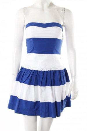Minikleid Sommerkleid blau weiß gestreift 34/36