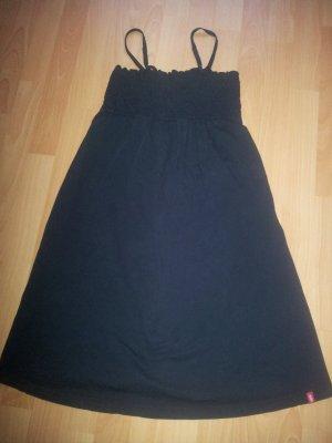 Minikleid Sommerkleid schwarz Gr. M Spaghettiträger edc by Esprit
