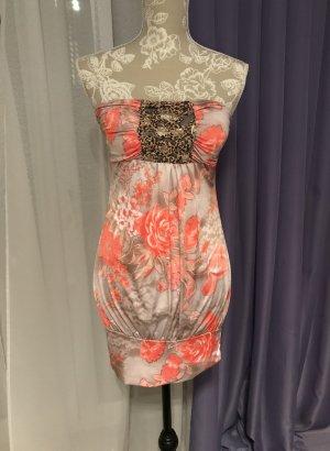 Mini vestido multicolor