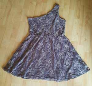 Minikleid Spitze One-Shoulder Gr. 40