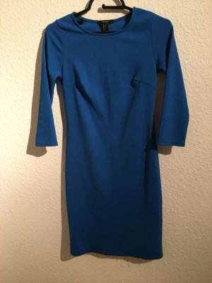 Minikleid Stretch Blau 36