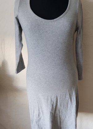Minikleid - stretch -Gr. 38 - hellgrau