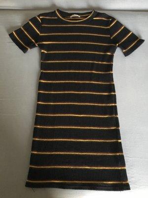 Minikleid Strickkleid Zara Ringelkleid Grösse M