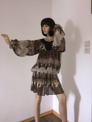 Vestido tipo túnica multicolor Poliéster