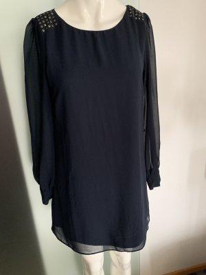 Minikleid Tunika Chiffon Gr 38 M