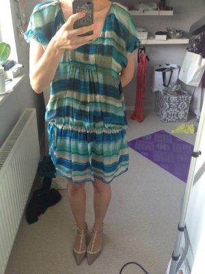 Minikleid Tunika Seide zara