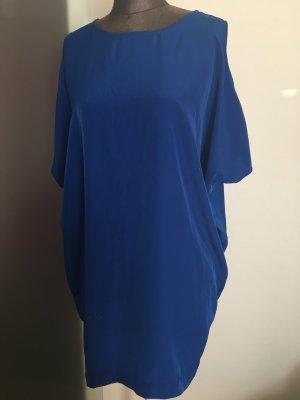 Minikleid Tunika Shirt Gr 36 38 S von Zara Royal blau