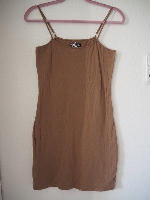 Minikleid Unterkleid nude