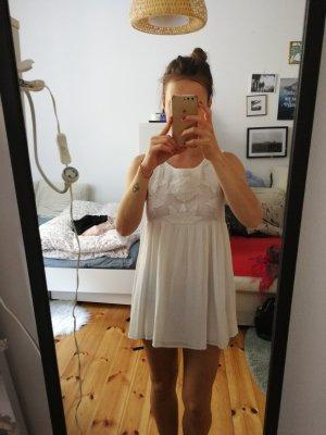 Minkpink Vestido línea A blanco-blanco puro