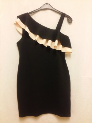 New Look Mini Dress black-pink polyester