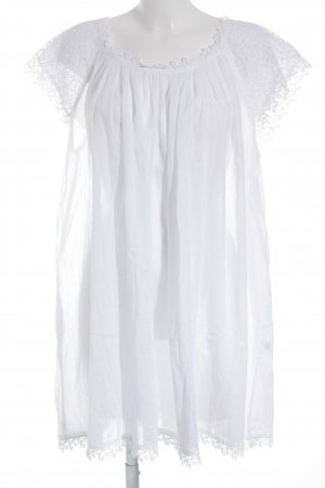 Minikleid weiß Beach-Look