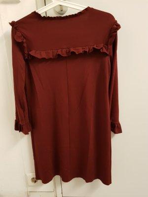 Zara Woman Robe courte multicolore