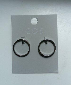 COS Creolen zilver Metaal